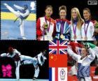Taekwondo -57kg fem. LDN 12