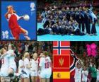 Balonmano femenino LDN 2012