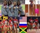 Atletismo 4x400m fem LDN12
