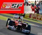 Felipe Massa - Ferrari - Gran Premio de Japón 2012, 2º Clasificado