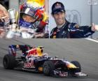 Mark Webber - Red Bull - Gran Premio de Corea del Sur 2012, 2º Clasificado