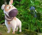 Jeff, el perro amigo de Tadeo