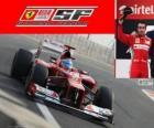 Fernando Alonso - Ferrari - Gran Premio de la India 2012, 2º Clasificado