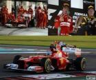 Fernando Alonso - Ferrari - Gran Premio de Abu Dhabi 2012, 2º Clasificado
