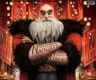 Norte, más conocido como Santa Claus. Personaje de El Origen de los Guardianes