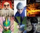 Personajes de  El Origen de los Guardianes