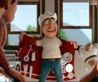El guía peruano Freddy parece una tienda andante con el abrigo multiusos