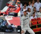 Michael Schumacher se retiro de la F1 en el GP de Brasil 2012