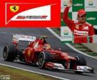 Felipe Massa - Ferrari - Gran Premio de Brasil 2012, 3er Clasificado