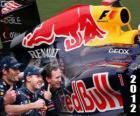 Red Bull Campeón del Mundo de Constructores de la FIA 2012