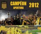 Club Atlético Peñarol campeón del Torneo Apertura 2012, Uruguay