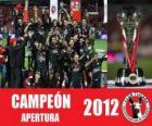 Xolos de Tijuana campeón apertura 2012, México