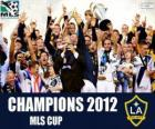 Los Angeles Galaxy, campeón de la MLS Cup 2012
