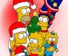 Los Simpson te desean unas felices fiestas navideñas