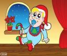 Bebé en Navidad