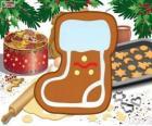 Galleta de la Bota de Papá Noel