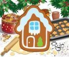 Galleta de Navidad en forma de casa