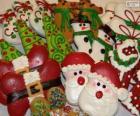 Bonitas galletas Navideñas de formas variadas
