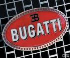 Logo de Bugatti, marca francesa de origen italiano