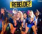 RebeldeS es un grupo musical brasileño, que nació en la telenovela Rebelde Rio