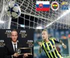 Premio Puskás de la FIFA 2012 para Miroslav Stoch