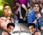Luan Santana, cantante y compositor brasileño