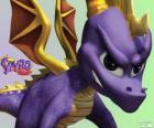 El joven dragón Spyro, protagonista de los vídeojuegos Spyro the Dragon