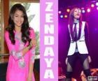 Zendaya, una cantante y compositora estadounidense