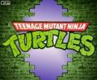 El logo de Tortugas Ninja