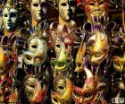 Máscaras clásicas de carnaval