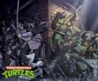 Tortugas Ninja en acción