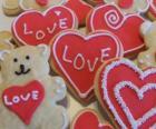Galletas para celebrar el día de los enamorados