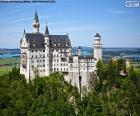 El castillo de Neuschwanstein, Alemania
