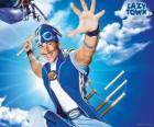 El héroe de LazyTown, el saludable deportista Sportacus