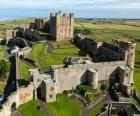 El Castillo de Bamburgh, Inglaterra