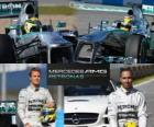 Mercedes AMG Petronas F1 Team 2013