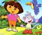 Dora la exploradora y su amigo el mono Botas