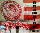 Olympiacos del Pireo, campeón Super League 2012-2013