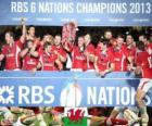 Gales campeona de las Seis Naciones 2013