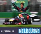 Sebastian Vettel - Red Bull - Gran Premio de Australia 2013, 3er Clasificado