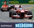 Fernando Alonso - Ferrari - Gran Premio de Australia 2013, 2º Clasificado