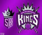 Logo de Sacramento Kings, equipo de la NBA. DivisiónPacífico,Conferencia Oeste