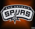 Logo de San Antonio Spurs, equipo de la NBA. DivisiónSuroeste,Conferencia Oeste