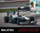 Lewis Hamilton - Mercedes - Gran Premio de Malasia 2013, 3er Clasificado