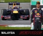 Mark Webber - Red Bull - Gran Premio de Malasia 2013, 2º Clasificado