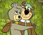 Yogui y Cindy, dos osos enamorados en el parque Jellystone