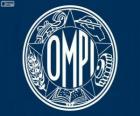 Antiguo logo de OMPI, Organización Mundial de la Propiedad Intelectual