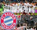 F. C. Bayern Múnich, campeón de la Bundesliga 2012-13