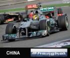 Lewis Hamilton - Mercedes - Gran Premio de la China 2013, 3er Clasificado