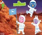 Los Backyardigans astronautas han llegado a Marte